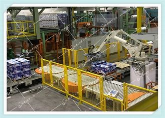 Paper Mill Assembly Line Robots Intelligent Equipment For Palletizing